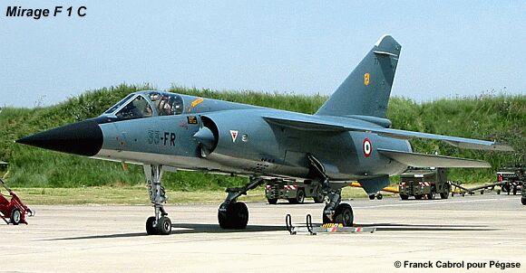 Mirage F1 - C en bois et carton 1/3 Portrait1
